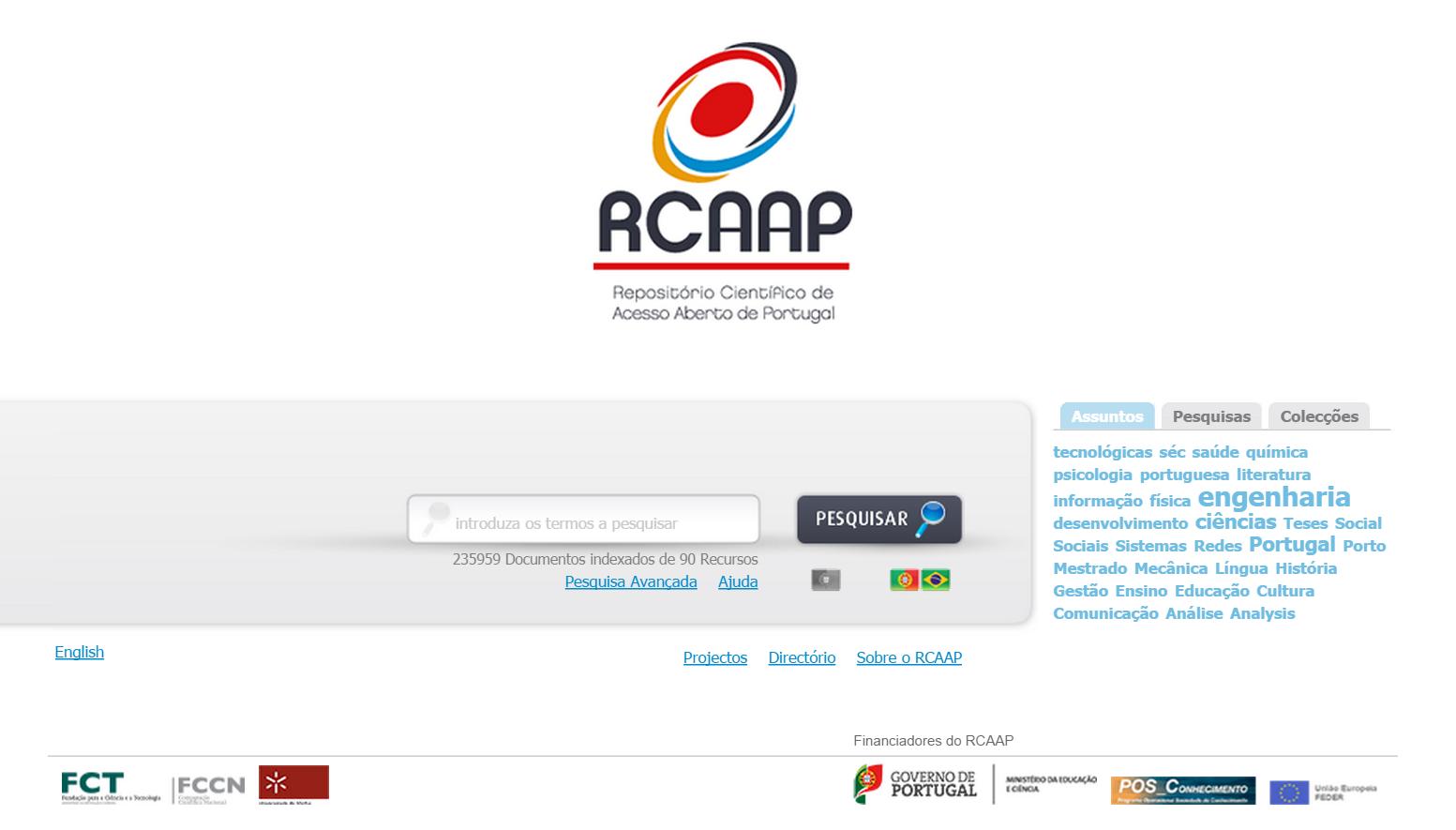 portal RCAAP