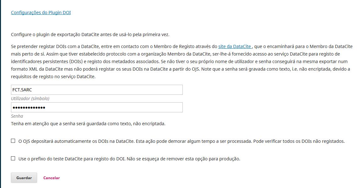 Conta DataCite